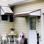 Aluminum Awnings - door - Window
