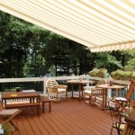 Retractable awning with remote control