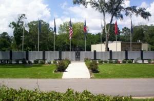 forest lawn veteran memorial wall