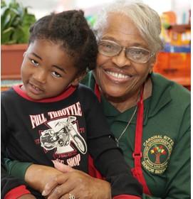 golden triangle seniors volunteer with Foster Grandparents