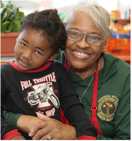 golden triangle seniors volunteer with Foster Grandparents