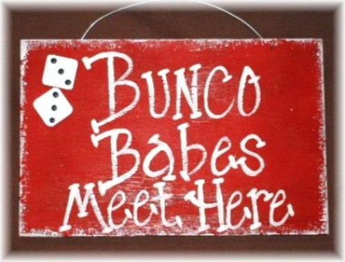 Lumberton ladies Bunco 2013