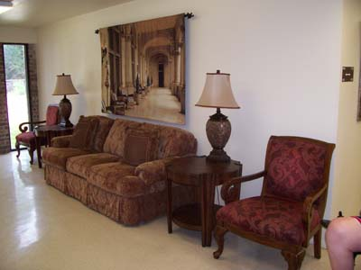 Optimist Village Orange senior apartment common area
