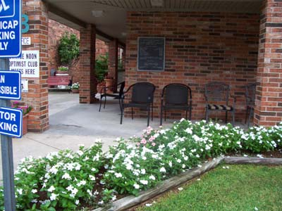 Optimist Village Senior apartment Orange TX office