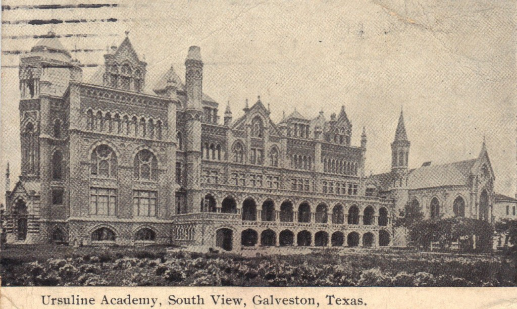 historic Galveston Catholic Church tour