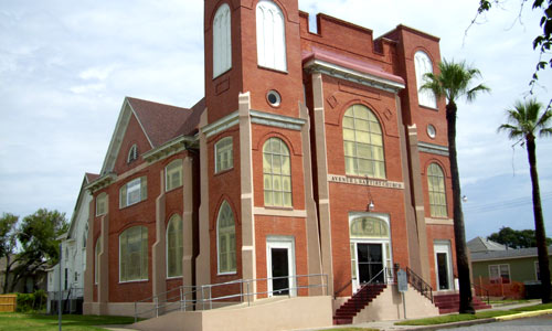 historical black church galveston