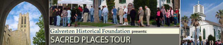 Galveston Sacred Places Tour