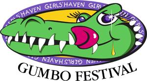 Girls Haven Gumbo Festival Logo