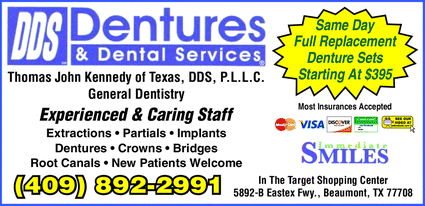 Dentures & Dental Services Beaumont Denture