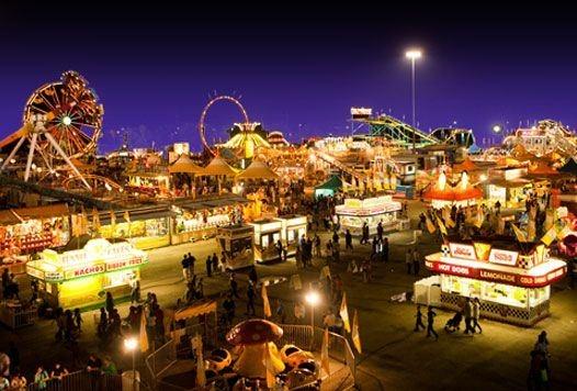 South Texas State Fair Carnival ride