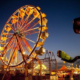 South Texas State Fair Ferris Wheel