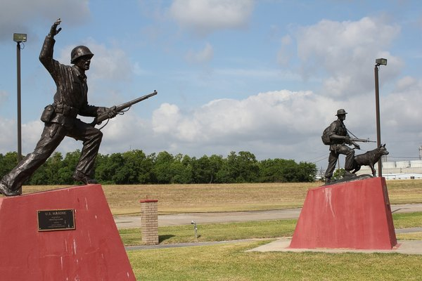 Veteran's Memorial Golden Triangle - Veteran's Park Port Arthur - h