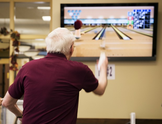 Wii Bowling Beaumont Seniors Port Neches, senior fun Port Neches, senior exercise Port Neches
