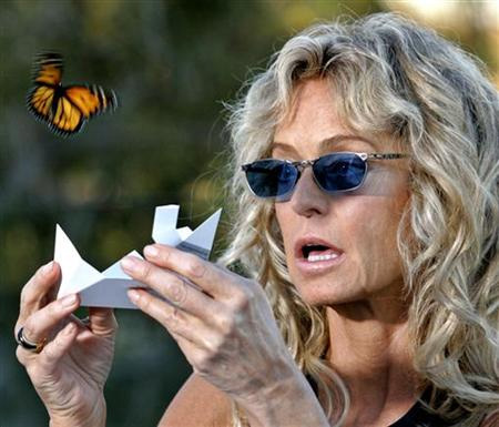 Butterfly release Harbor Foundation