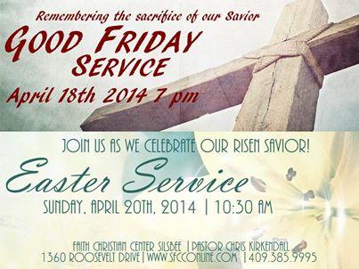 Easter Service Faith Christian Center Silsbee 2014
