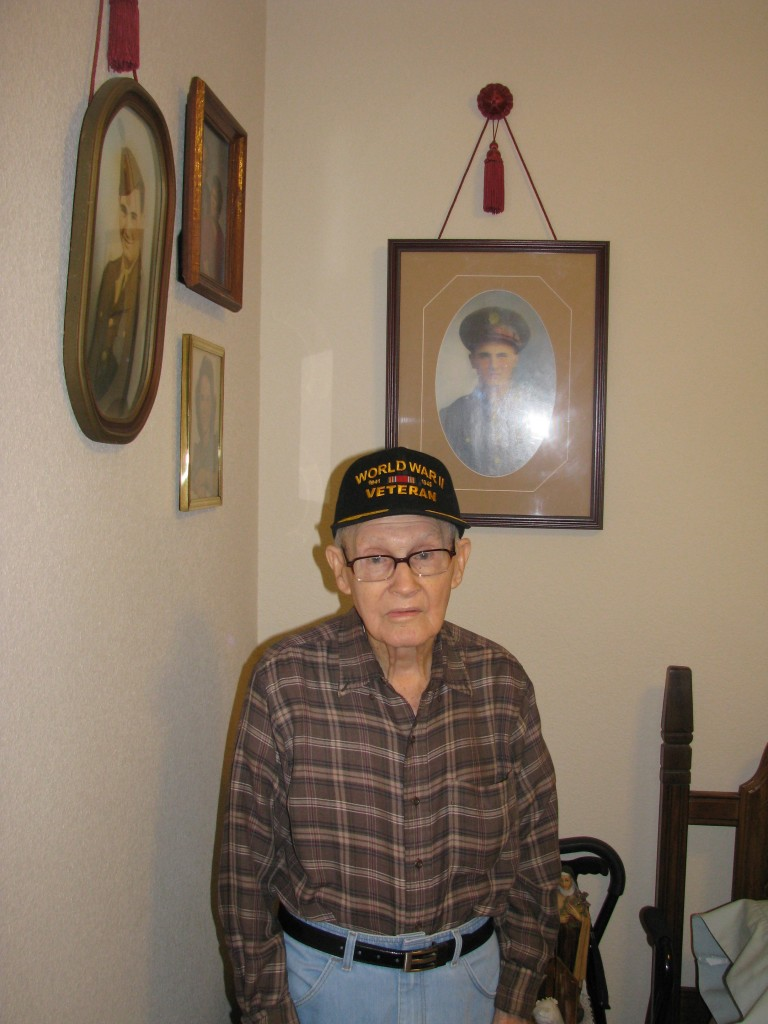 Lester Trauth Sr World War II Veteran Lumberton Tx