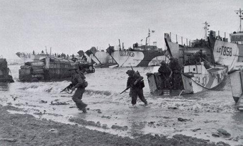 Lester Trauth Sr Utah Beach Invasion