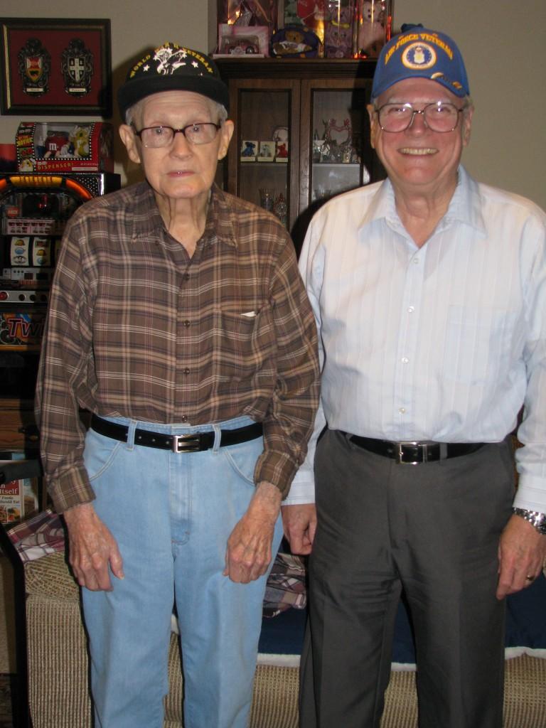 Lester Trauth Sr. & Jr. - World War II Veteran Lumberton Tx - Vietnam Era Veteran Lumberton Tx