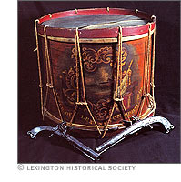 Drum of William Diamond  namesake of the SETX DAR Chapter