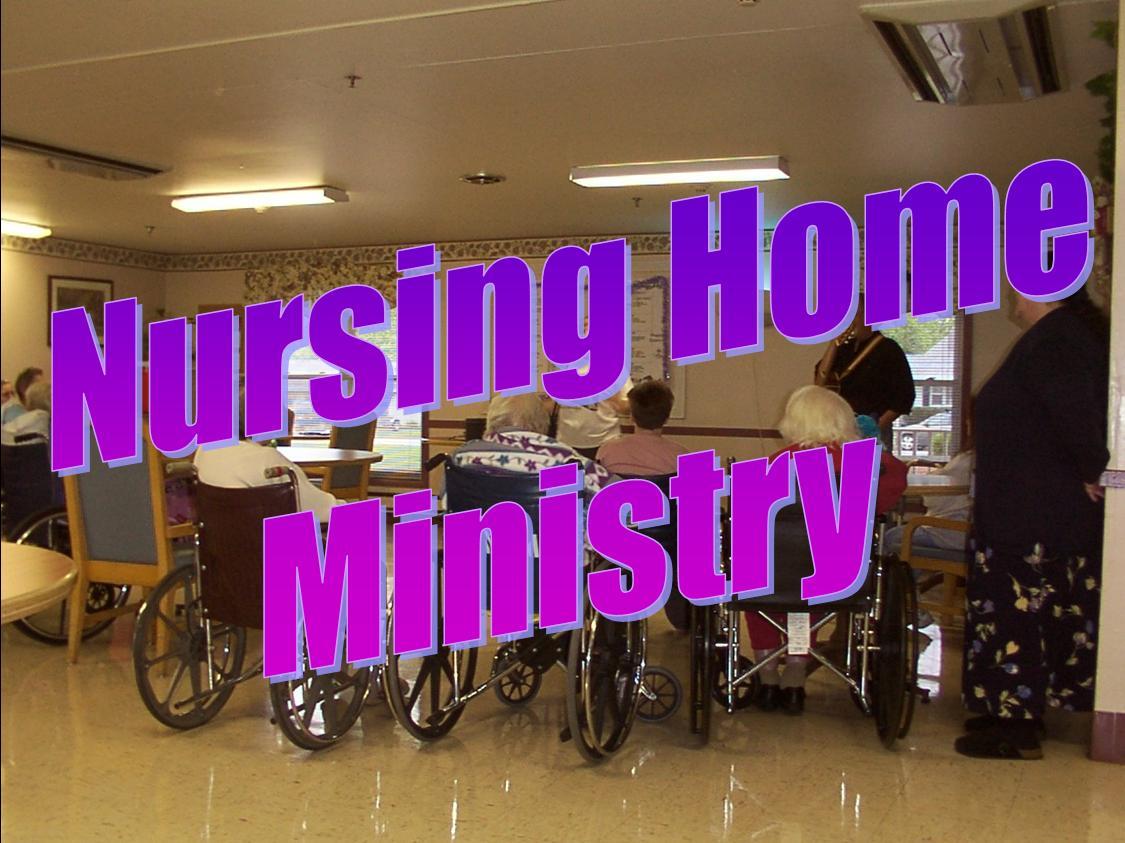 Lumberton Nursing Home Church Service From First Baptist