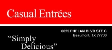 Casual Entrees Logo