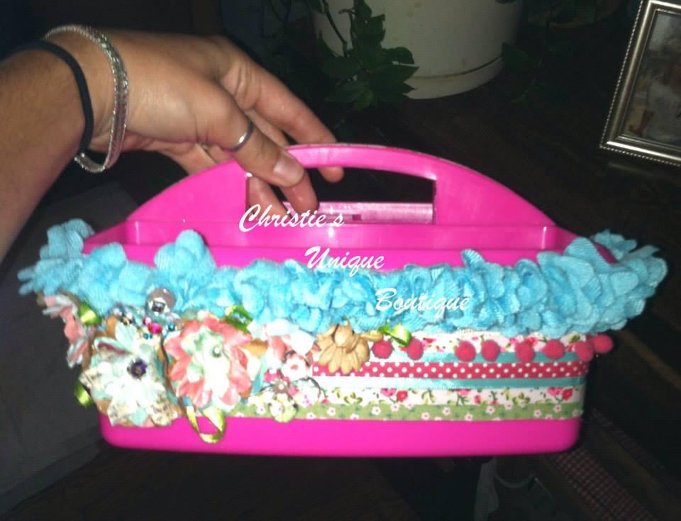 Karry & Co Christy's Unique Boutique SETX Senior Shopping custom caddie