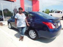 Silsbee Nissan SETX Senior car shopper