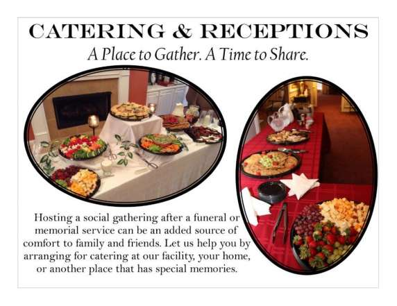 funeral receptions Southeast Texas