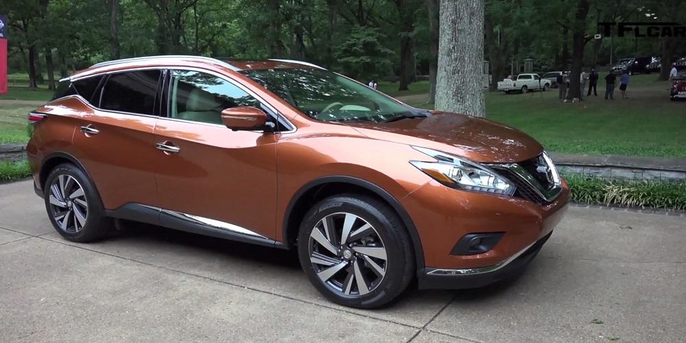 Nissan Murano Orange Tx
