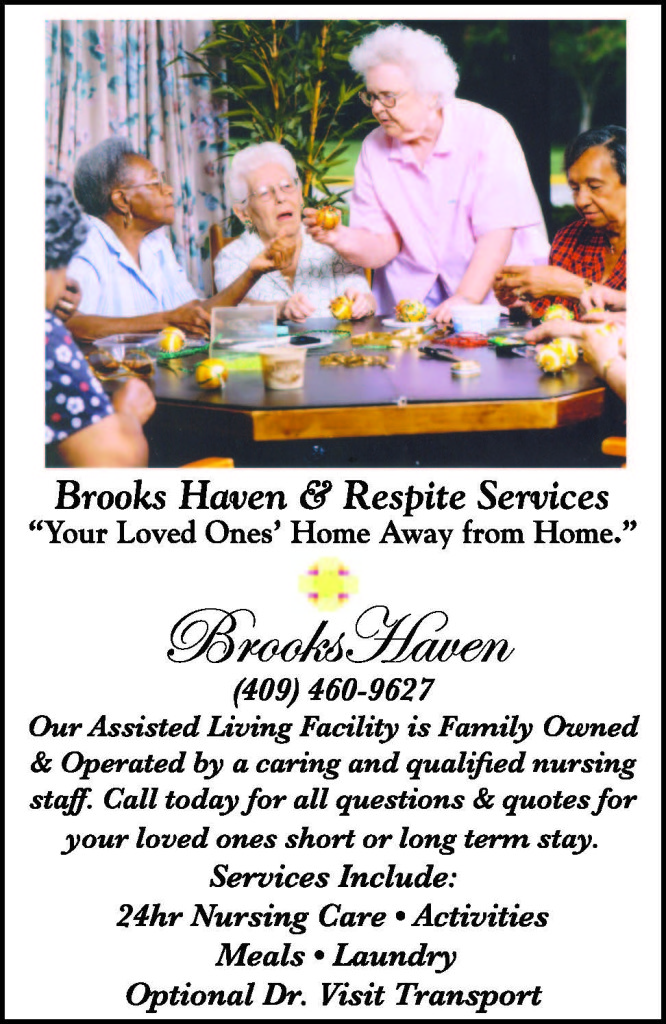 Brooks Haven Ad Port Arthur