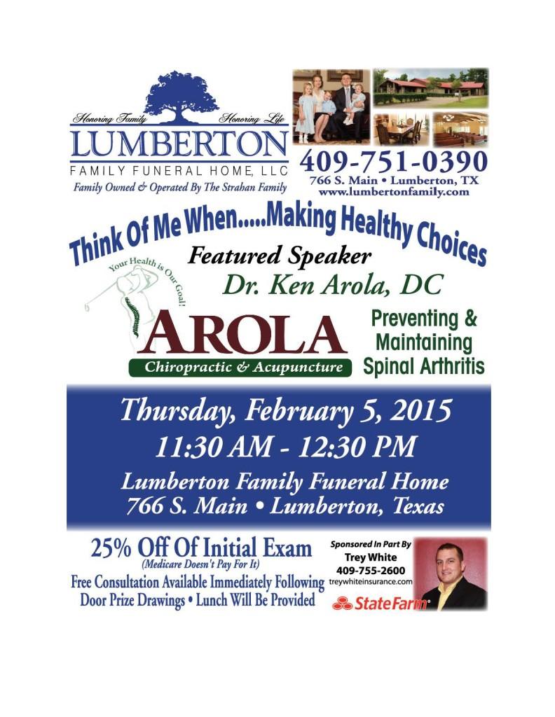 Lumberton Family Funeral Home Southeast Texas Senior Education