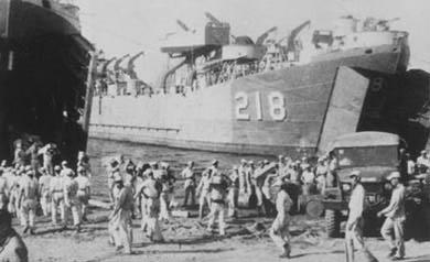 LST 218 World War II
