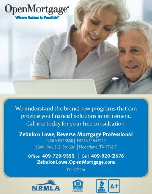 Reverse Mortgage Beaumont Texas, reverse mortgage Southeast Texas, reverse mortgage SETX