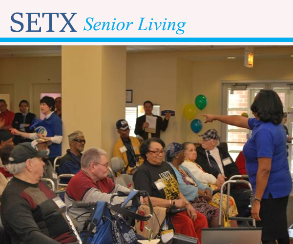 senior living Beaumont, senior news Southeast Texas, senior health Orange TX, senior activities Port Arthur, senior resources Jasper TX