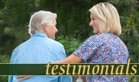 hospice testimonial Beaumont Texas