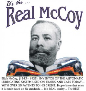 Elijah McCoy The Real McCoy