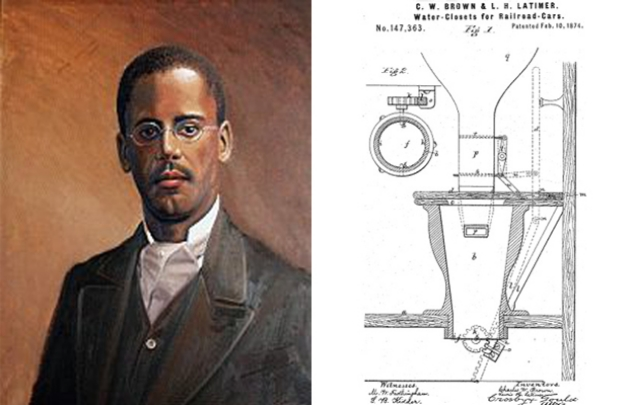 Lewis Howard Latimer Black inventor lightbulb and telephone