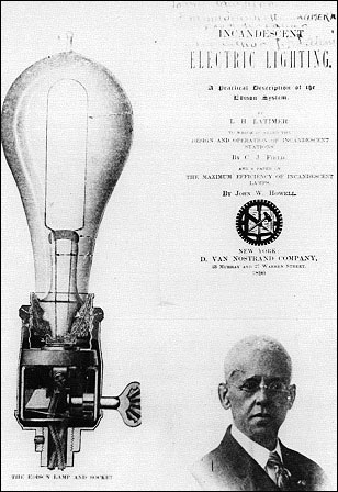 Lewis Howard Latimer Inventor of the Carbon Filament for light bulbs