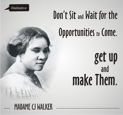 Madam CJ Walker African American Inspiration