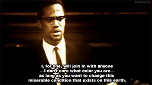 Malcolm X on World Change