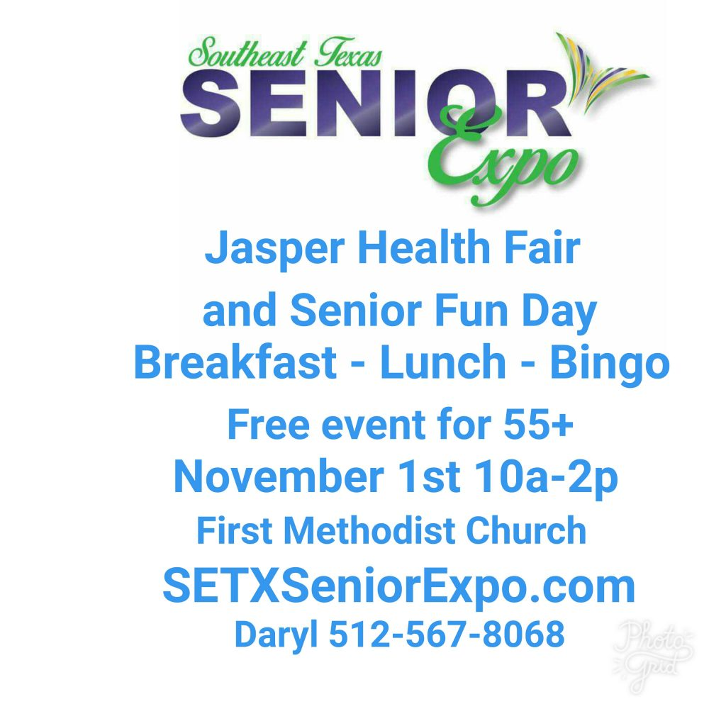 senior expo Jasper TX, senior health fair Jasper TX, health fair Jasper TX, senior events Jasper County TX, veteran event Jasper TX, veterans Jasper TX, veteran resources Jasper TX