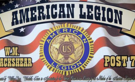 American Legion Post 78, American Legion Jasper TX, American Legion Lake Sam Rayburn, American Legion Toledo Bend