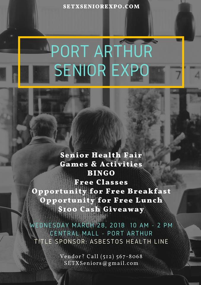 senior expo Port Arthur, senior events Mid County, senior news Golden Triangle TX, senior events Texas, senior expo Houston area