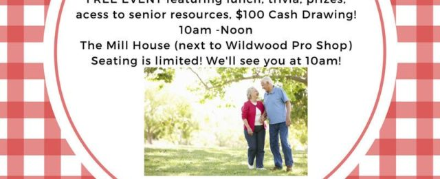 Wildwood Senior Fun Day, Wildwood Senior Social, Senior Events Wildwood TX, Senior Social Event Wildwood TX, Senior Activities Wildwood Resort City TX,