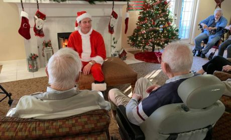 Synergy homecare Christmas Beaumont, homecare Christmas Port Arthur, Christmas for seniors Mid County TX, senior Christmas Orange TX,