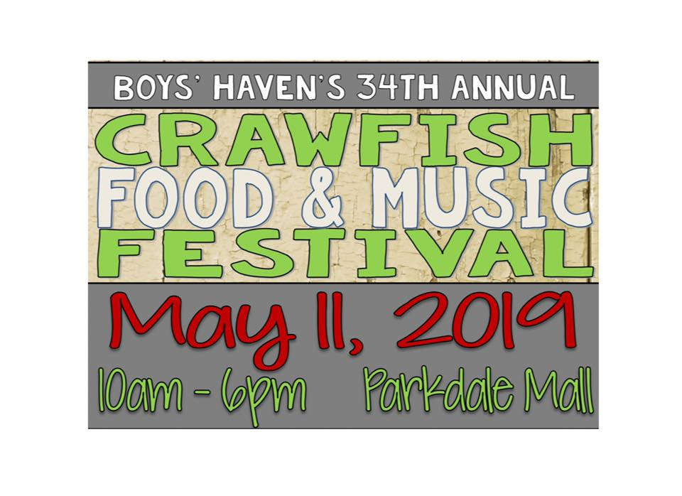 crawfish festival 2019, Boy's Haven, crawfish Beaumont TXS
